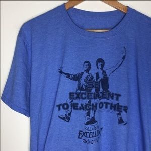 Bill & Ted excellent adventure graphic tee
